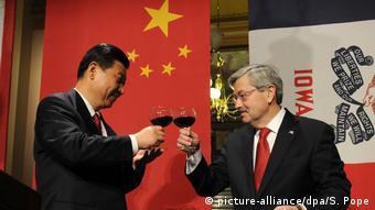 Iowa Besuch Xi Jinping Terry Branstad