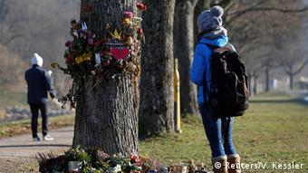 Deutschland Freiburg nach Mord an Studentin