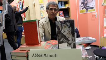 Deutschland iranischer Autor Abbas Maroufi (DW/J. Kürten)