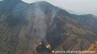 Pakistan International Airlines Flugzeugabsturz Absturzstelle