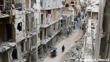 Aleppo Syrien Ruinen Stadt