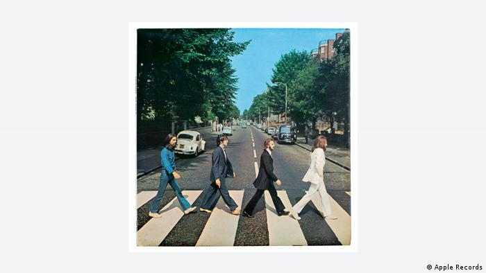 CD cover, The Beatles Abbey Road (Apple Records)