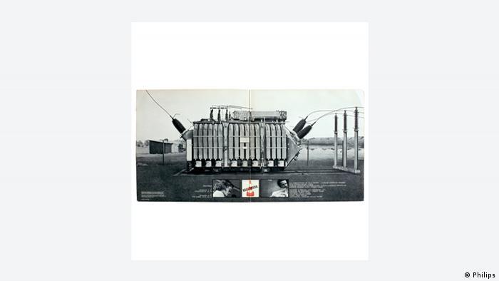 CD cover, Bernd & Hilla Becher, Kraftwerk (Philips)
