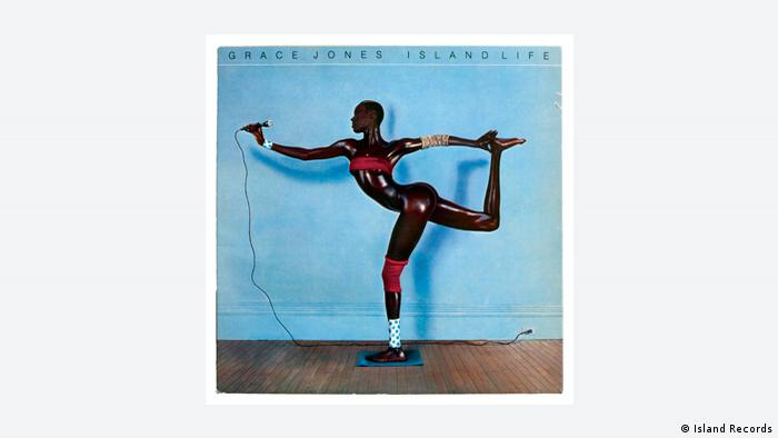 CD cover, Grace Jones Island Life (Island Records)