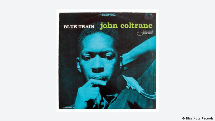 CD cover, John Coltrane Blue Train (Blue Note Records)