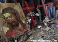 Uništeni kršćanski grad u Iraku