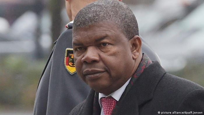 Angola Defense Minister Joao Manuel Goncalves Lourenco during a visit to Germany (picture alliance/dpa/R.Jensen)