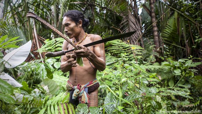 Mentawai Inseln Volk Ureinwohner (picture-alliance/dpa/Zulkifli)
