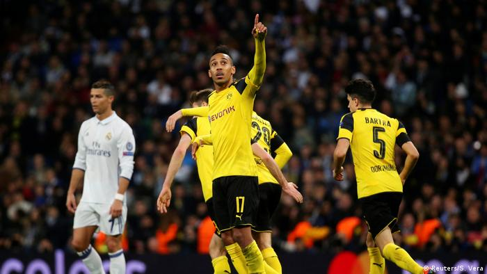 Champions League Real Madrid v Borussia Dortmund (Reuters/S. Vera)