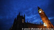Großbritannien das Parlamenthaus in London