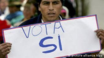 Ecuador vor Referendum zu neuer Verfassung