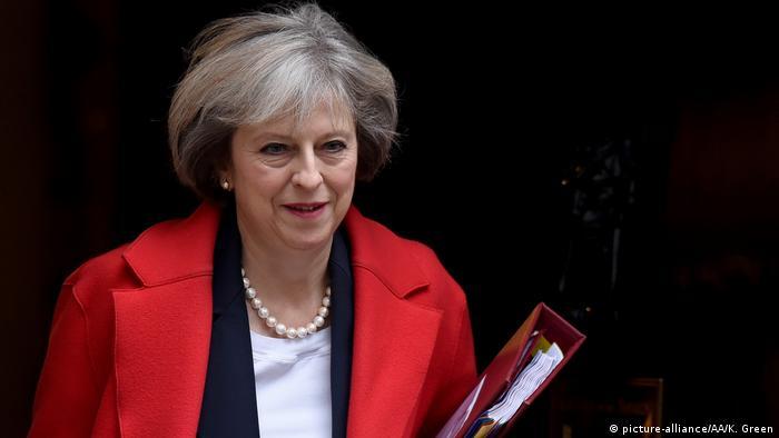 Großbritannien Premierministerin Theresa May (picture-alliance/AA/K. Green)