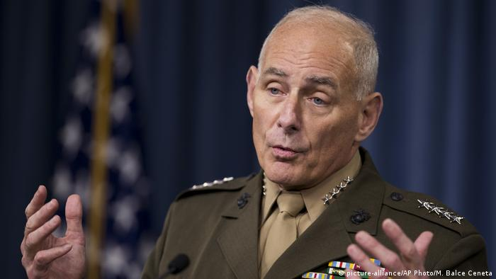 USA General John Kelly (picture-alliance/AP Photo/M. Balce Ceneta)