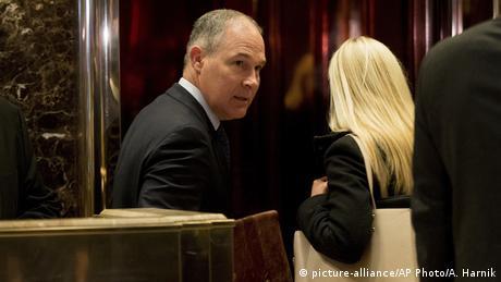 USA Scott Pruitt (picture-alliance/AP Photo/A. Harnik)