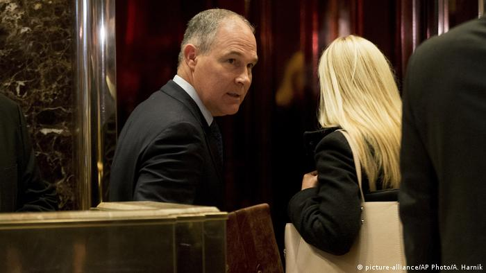 USA Scott Pruitt (picture-alliance/AP Photo/A. Harnik)