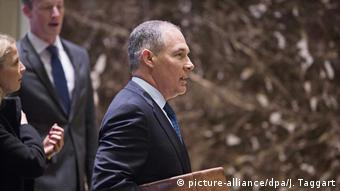 USA Scott Pruitt (picture-alliance/dpa/J. Taggart)