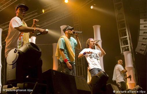 Band Culcha Candela beim Roskilde Festival 2008 freies Bildformat
