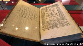 A 475-year-old Bible in the Wartburg exhibition