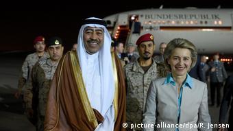 Verteidigungsministerin von der Leyen besucht Saudi-Arabien (picture-alliance/dpa/R. Jensen)