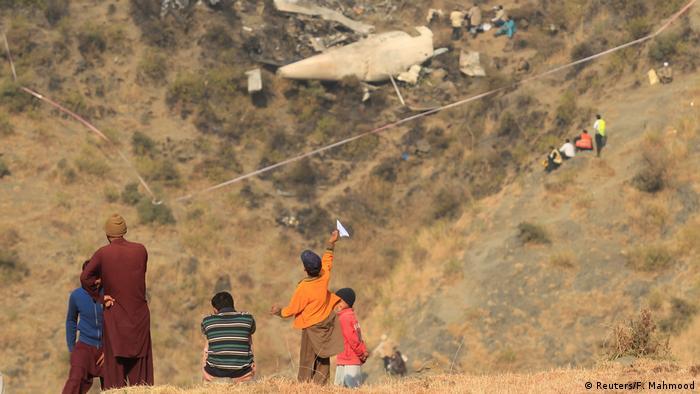 Pakistan Flugzeugabsturz Pakistan International Airlines Flug PK-661