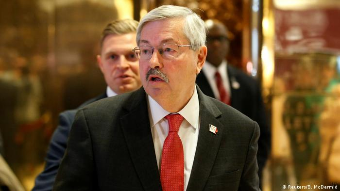 New York Terry Branstad (Reuters/B. McDermid)
