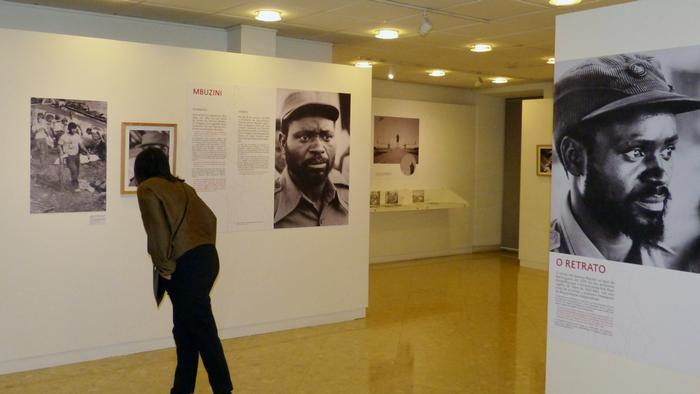 Ausstellung Fotos von Samora Machel