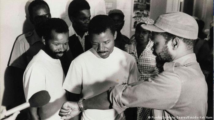 Ausstellung Fotos von Samora Machel (Fundação Mário Soares/Estúdio Kok Nam)