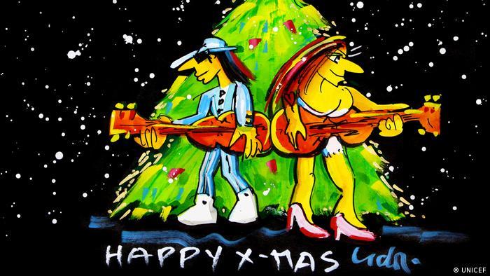 Weihnachtskarten Deutschland.Udo Lindenberg Rockt Unter Dem Weihnachtsbaum Kultur Dw 08 12 2016