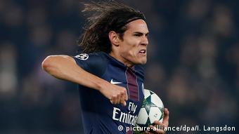 Fußball Edinson Cavani of Paris Saint Germain vs PFC Ludogorets Razgrad (picture-alliance/dpa/I. Langsdon)