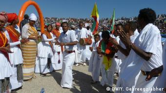 Äthiopien Tag der Nationalitäten - Feier in Harer (DW/Y. Gebreegziabher)