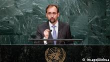 USA | United Nations High Commissioner for Human Rights Zeid Ra'ad al Hussein