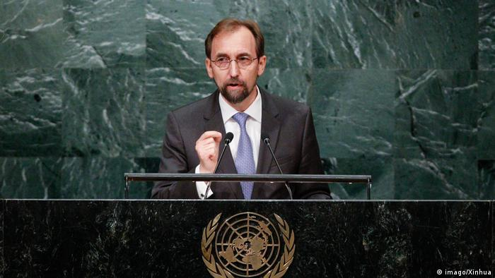 USA | United Nations High Commissioner for Human Rights Zeid Ra'ad al Hussein (imago/Xinhua)