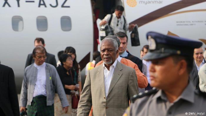 Rohingya in Myanmar Kofi Annan (DW/V. Hölzl)