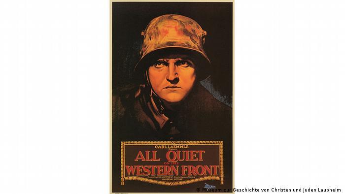 Poster 'All Quiet on the Western Front' (Museum zur Geschichte von Christen und Juden Laupheim )