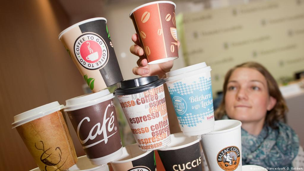 Germany′s love for coffee ′to go′ leaves environmental