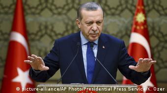 Türkei Rede Präsident Recep Tayyip Erdogan in Ankara