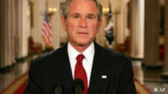 USA Finanzkrise George Bush Rede in Washington