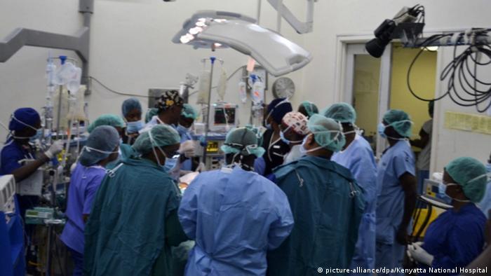 Kenia Kenyatta National Hospital - Krankenhaus in Nairobi