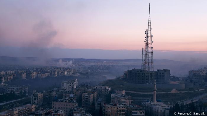 Syrien Krieg - Kämpfe in Aleppo (Reuters/O. Sanadiki)