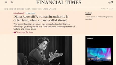 Screenshot Financial Times
