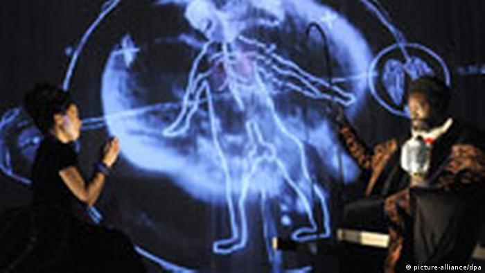 Fotoprobe Theaterstück Eine Kirche der Angst vor dem Fremden in mir von Christoph Schlingensief. RuhrTriennale 2008
