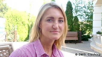 Elena, o tânără din Transnistria