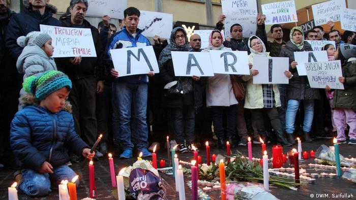 Freiburg Gedenken an die ermordete Studentin Maria