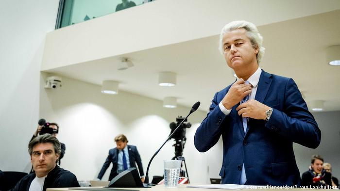 Un tribunal de los Países Bajos encontró al líder de la ultraderecha holandesa, Geert Wilders, culpable de discriminación, pero no lo condenó por instigación al odio. No recibirá otro castigo más que la sentencia. (9.12.2016)