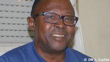 Titel: Marcos Mavungo, angolanischer Rechtsanwalt und Menschenrechtker Beschreibung : Marcos Mavungo ;angolanischer Rechtsanwalt und Menschenrechtler Ort: Lissabon/Portugal Datum: 08.12.16 Autor: João Carlos (Korrespondent)