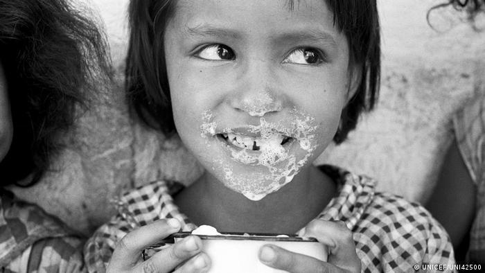 UNICEF Mädchen in Guatemala (UNICEF/UNI42500)