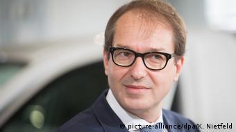Ο υπουργός Μεταφορών της Γερμανίας Αλεξάντερ Ντόμπριντ