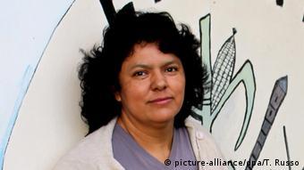 Umweltschützerin Berta Cáceres