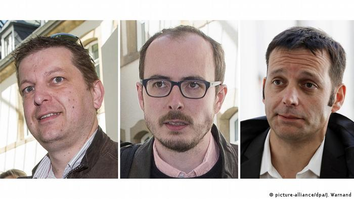 Luxemburg | LuxLeaks Prozess (picture-alliance/dpa/J. Warnand)