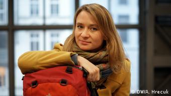 Η δημοσιογράφος και μπλόγκερ Άννα Άλμποτ